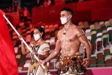 Hotboy lễ khai mạc Olympic 2020