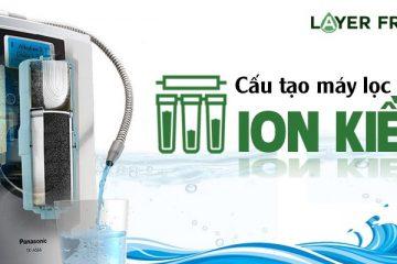 Cấu tạo của máy lọc nước ion kiềm