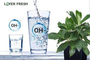 Cân bằng độ pH bằng nước ion kiềm